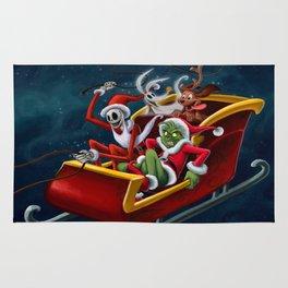 Christmas Hijackers Rug
