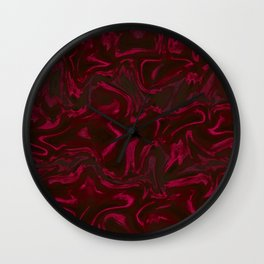Red Lala Times Wall Clock