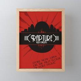 Bioshock Rapture Records Framed Mini Art Print