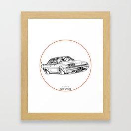 Crazy Car Art 0220 Framed Art Print
