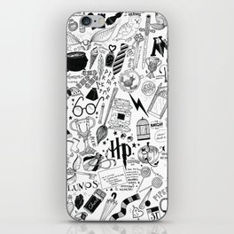 Hogwarts, Hogwarts, Hoggy Warty Hogwarts iPhone Skin
