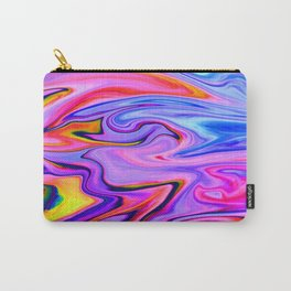 Marbled X Carry-All Pouch