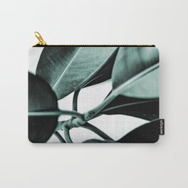 Minimal Rubber Plant Carry-All Pouch