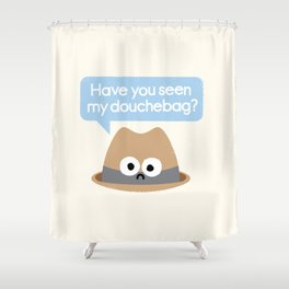 Missing Person Shower Curtain
