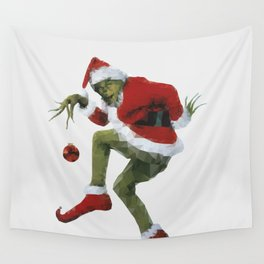 Christmas Grinch Wall Tapestry