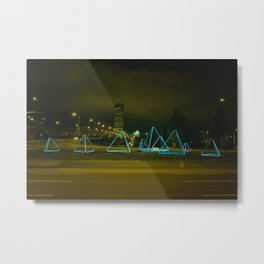 Portland Night Metal Print