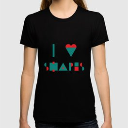 I heart Shapes T-shirt