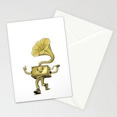 gramaphone Stationery Cards