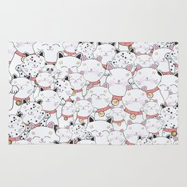 FIND THE PANDA - LUCKY CAT Rug