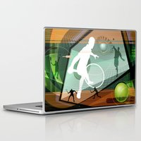 tennis Laptop & iPad Skins featuring Tennis by Robin Curtiss