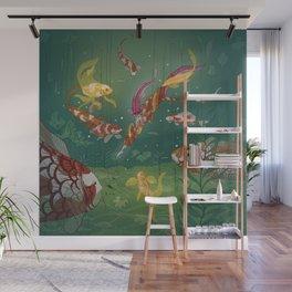 Ukiyo-e tale: The magic pen Wall Mural