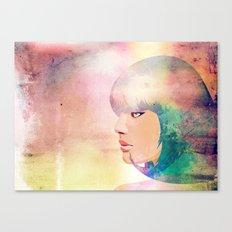 Blue Candy Canvas Print