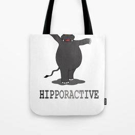Hipporactive Tote Bag