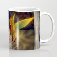 cage Mugs featuring Fairy Cage by Runno