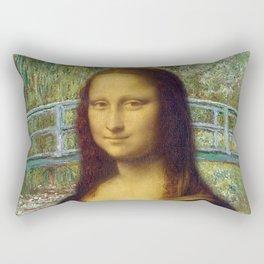 Da Vinci x Monet Rectangular Pillow