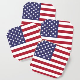 USA National Flag Authentic Scale G-spec 10:19 Coaster