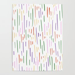 Spring into stripes Poster
