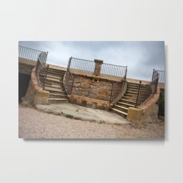 Twin stairs Metal Print