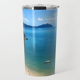 Dream Beach in Borneo Travel Mug