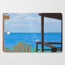 Lookout along Grand Case Beach Cutting Board