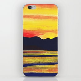 Salish Sea Sunset iPhone Skin