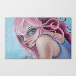Z imagination Zoe, pretty in pink Canvas Print