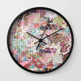 Boise City map Idaho Wall Clock
