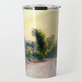 "Claude Monet ""Chemin"" Travel Mug"