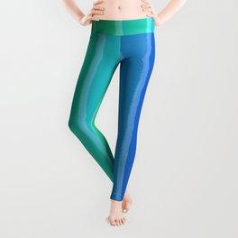 Vertical Color Tones #2 - Rainbow Collection Leggings