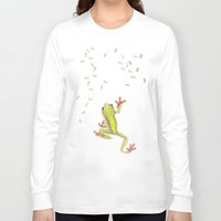 gustav klimt Long Sleeve T-shirts featuring Dissecting Gustav Klimt by Lars Furtwaengler | Colored Pencil | 2012 by Lars Furtwaengler