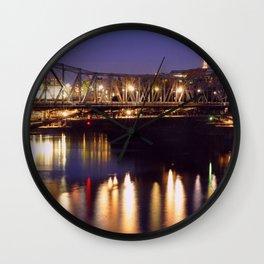 Alexandra Bridge  Wall Clock