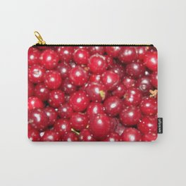 Vintage cherry harvested in a vegetable garden in a saucepan Carry-All Pouch