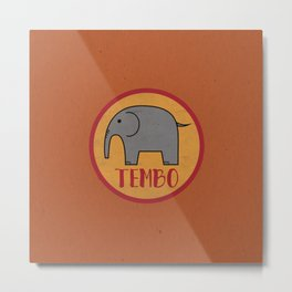 Tembo Elephant Metal Print
