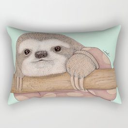 Slothy Rectangular Pillow