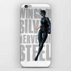 Silverhawks Steelheart iPhone & iPod Skin
