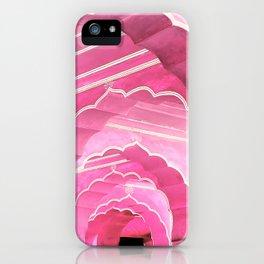 Amber Fort Jaipur Pink Mood iPhone Case