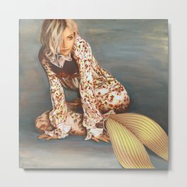 Sienna Mermaid Metal Print