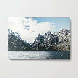 Jackson Hole Mountains Metal Print