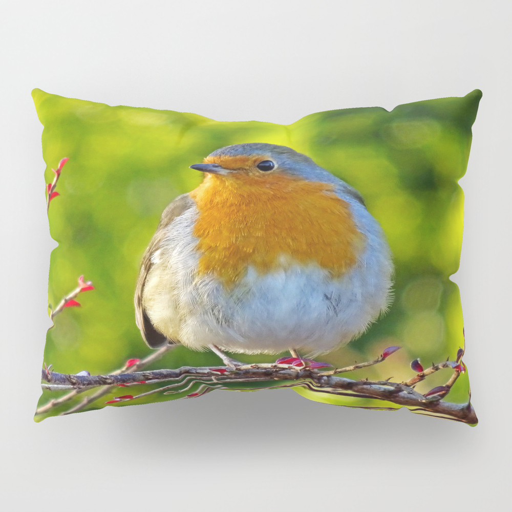 Robin Redbreast Pillow Sham by Catherineogden (PSH8331014) photo