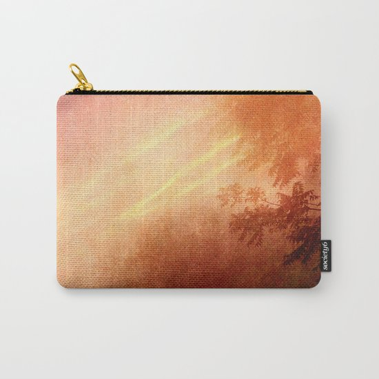As the clouds above drift Carry-All Pouch