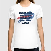 nfl T-shirts featuring NFL - Bills Shovel Your Way by Katieb1013