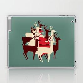 Deer Santa Laptop & iPad Skin