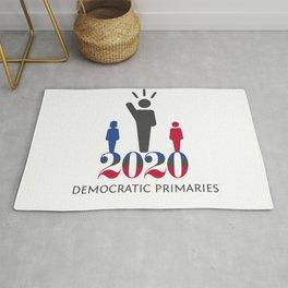 2020 Democratic Primaries Rug