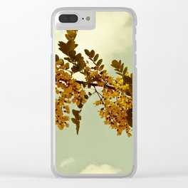 Nature Vintage Clear iPhone Case