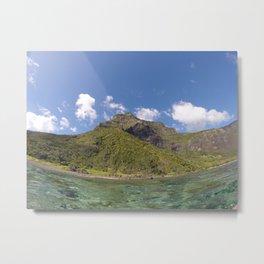 Mount Lidgbird, LHI Metal Print