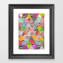 Lost in ▲ Framed Art Print