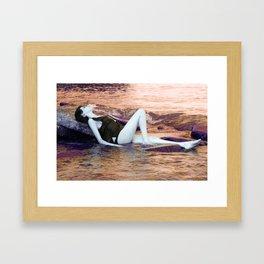 Serenity Sunrise Framed Art Print