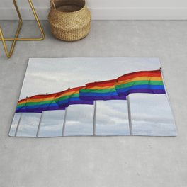 Pride Flags Rug