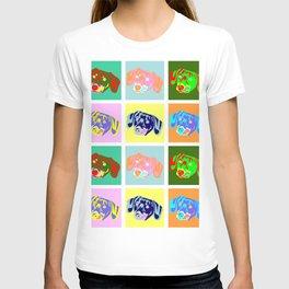 Dachshund Pop Art T-shirt