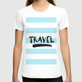 Vintage Nautical Travel poster T-shirt